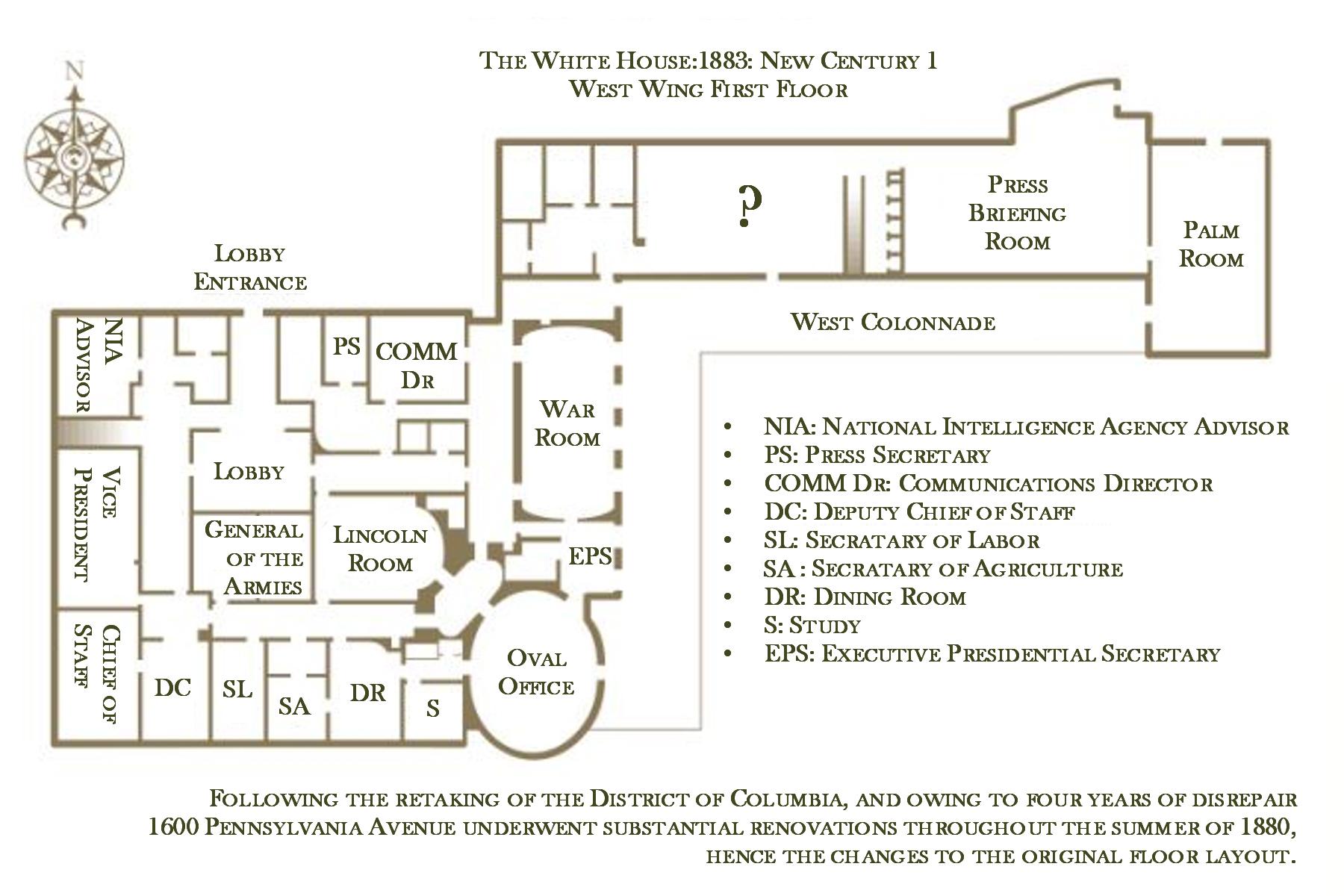 New Century's White House Floor Plan