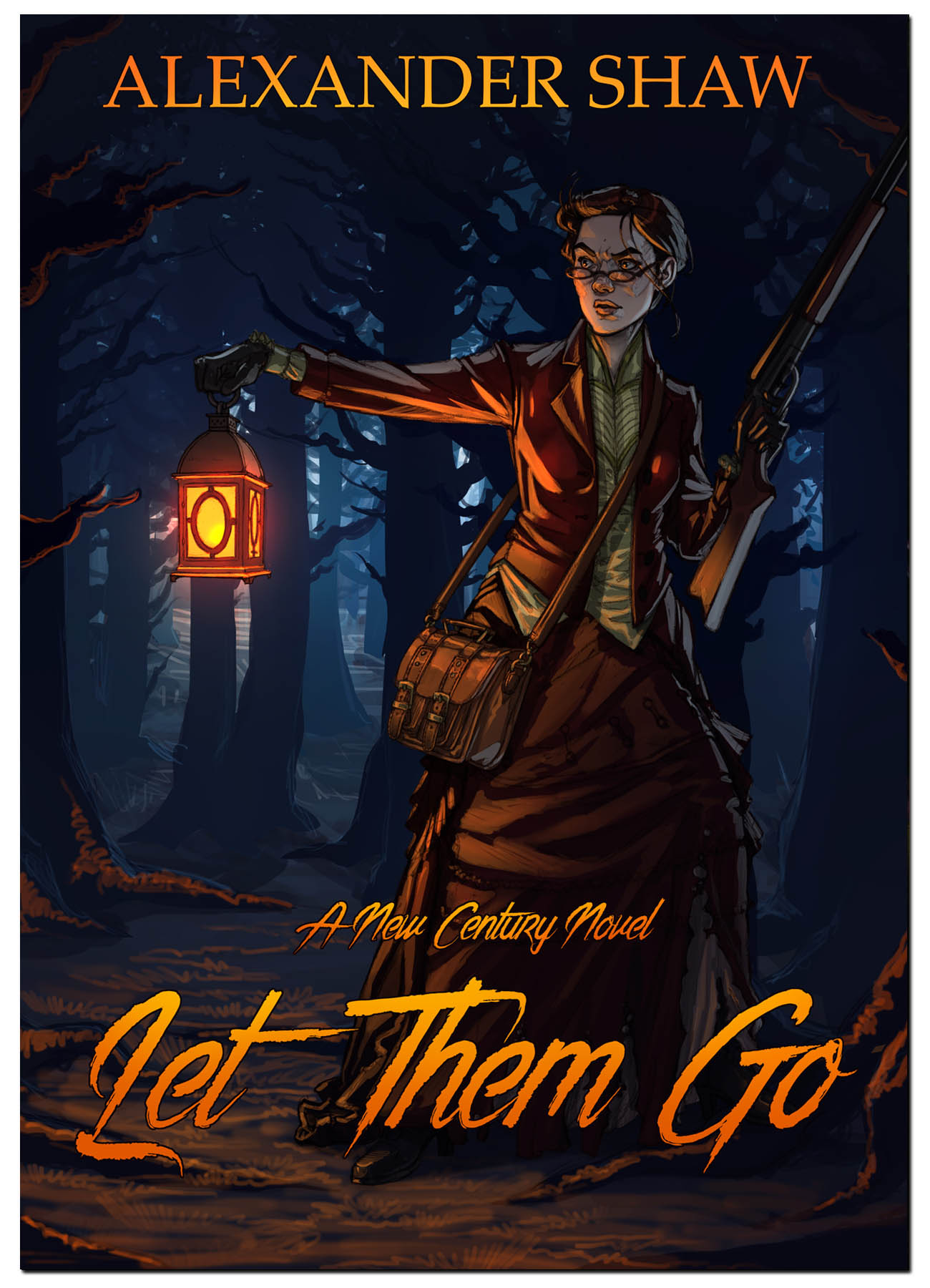 When a Man's world falls to pieces, where can a Woman stand? - A remote and ancient house in Cornwall, 1872. Rebecca Wolverton just wants to get the reading of her father's will over and done with, then journey home with her sister, Amanda to run their shop in Bristol… but time is not on their side. It is Halloween; a night when things that are outside will try to get in, and what is inside will try to get out. The two sisters, along with their aunt Cleo, their lawyer Mr Dawson, and Amanda's husband Rafe are in for the worst evening of their lives, and not all of them will see the dawn. Let Them Go is a gripping, mysterious Gothic romance, as well as a provocative commentary from the writer of Secret Rooms, Arlington and the award-winning Tiger's Eye.