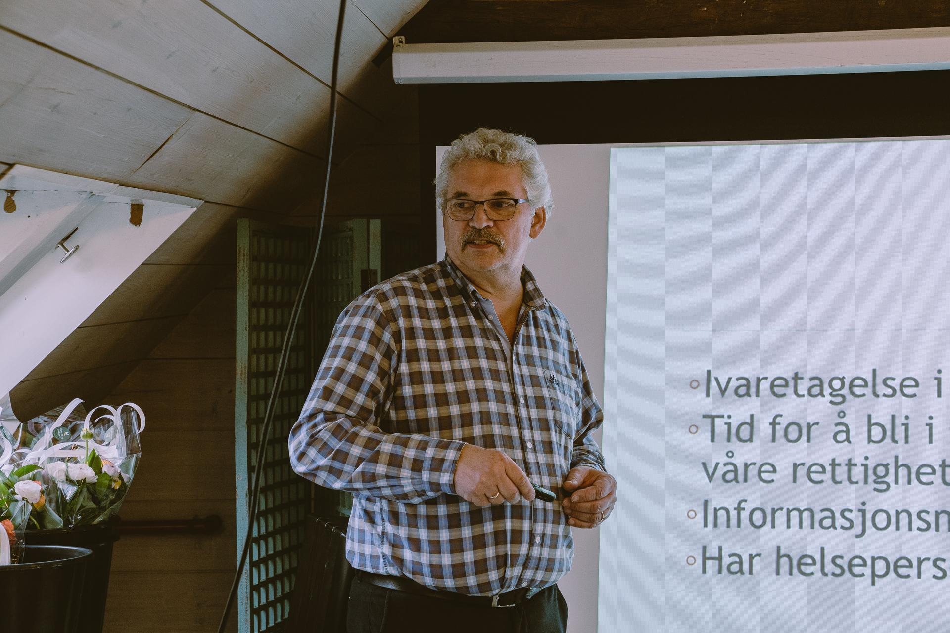 Helge Steinsund, Foto: Margrethe Vikan Sæbø