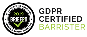GDPR Certified Barrister Banner 300x128