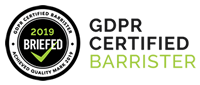 GDPR Certified Barrister Banner 200x87