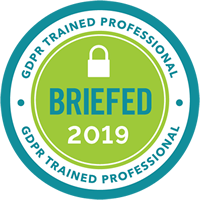 GDPR Trained Professional Badge 200x200