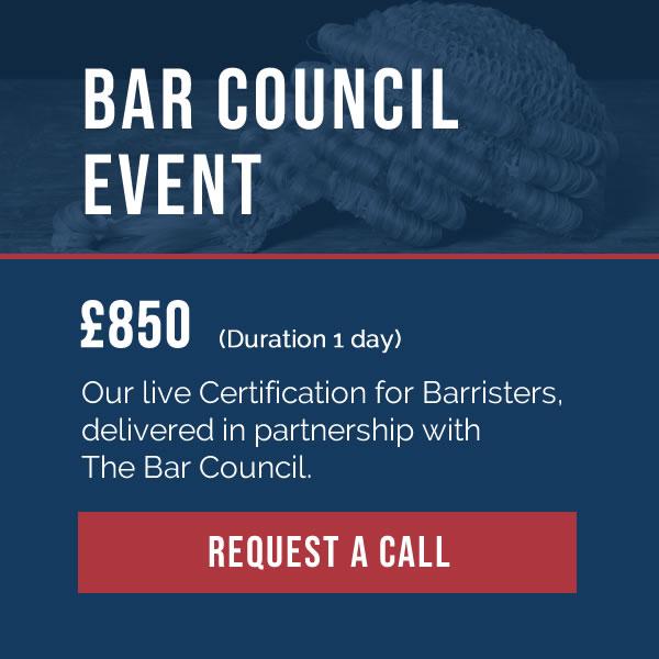 Bar Council event