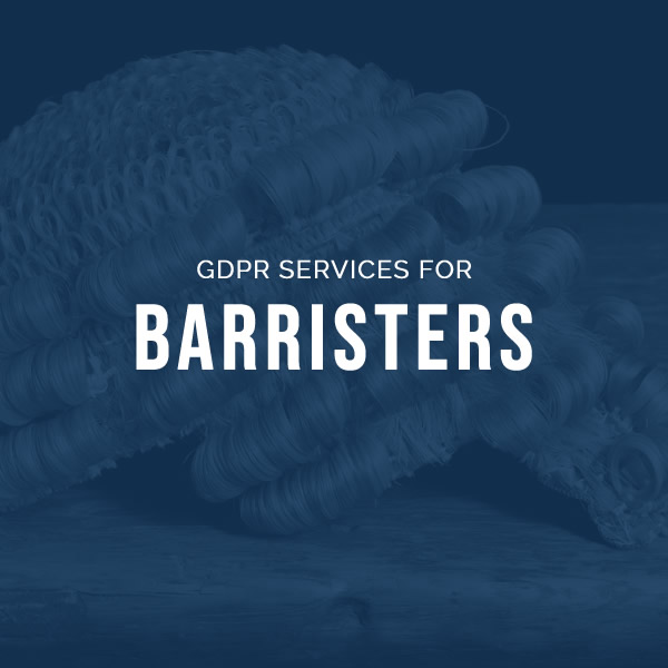 GDPR services for Barristers