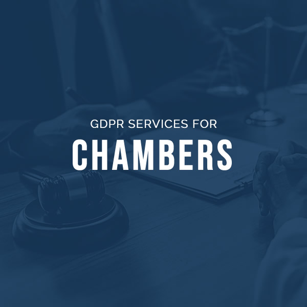 GDPR services for Chambers