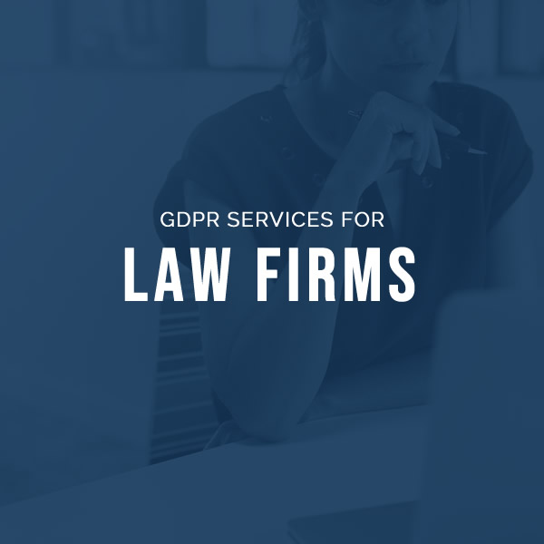 GDPR services for law firms