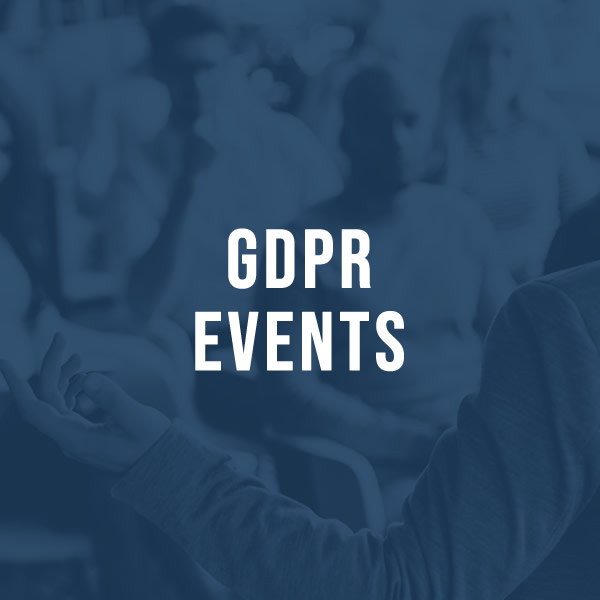 GDPR Events for the legal profession