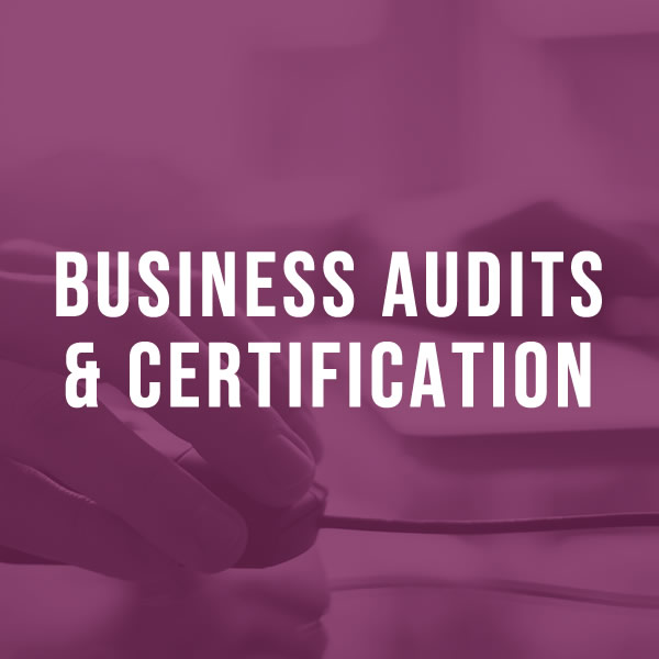 Business Audits and Certification
