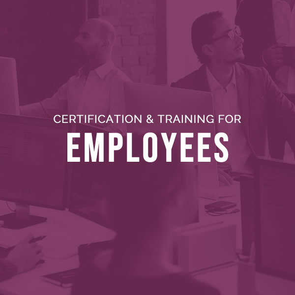 GDPR Training and certification for employees