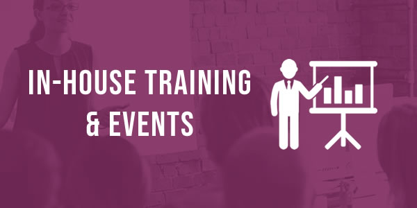 In-house training and events