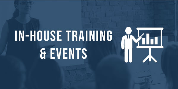 In-house traing and events