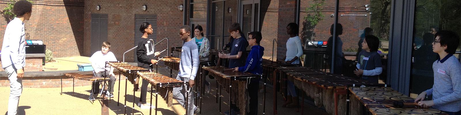 African Marimba Workshops In Schools London