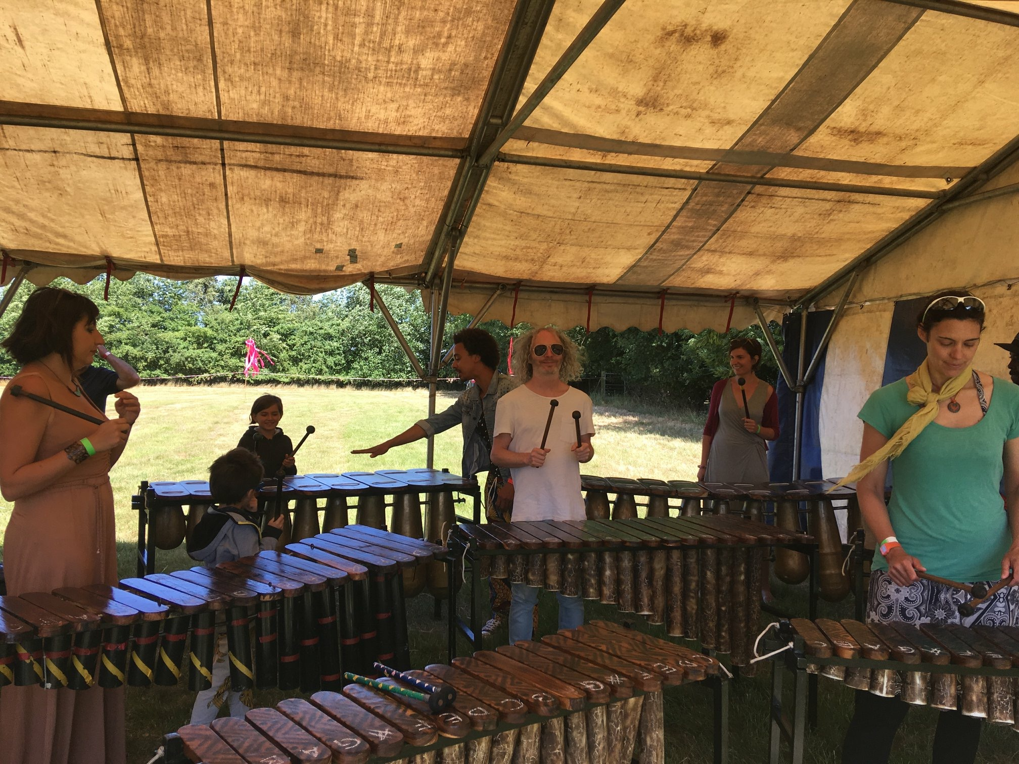 Southburgh Festival of World Music - Marimba Workshop with Otto Gumaelius