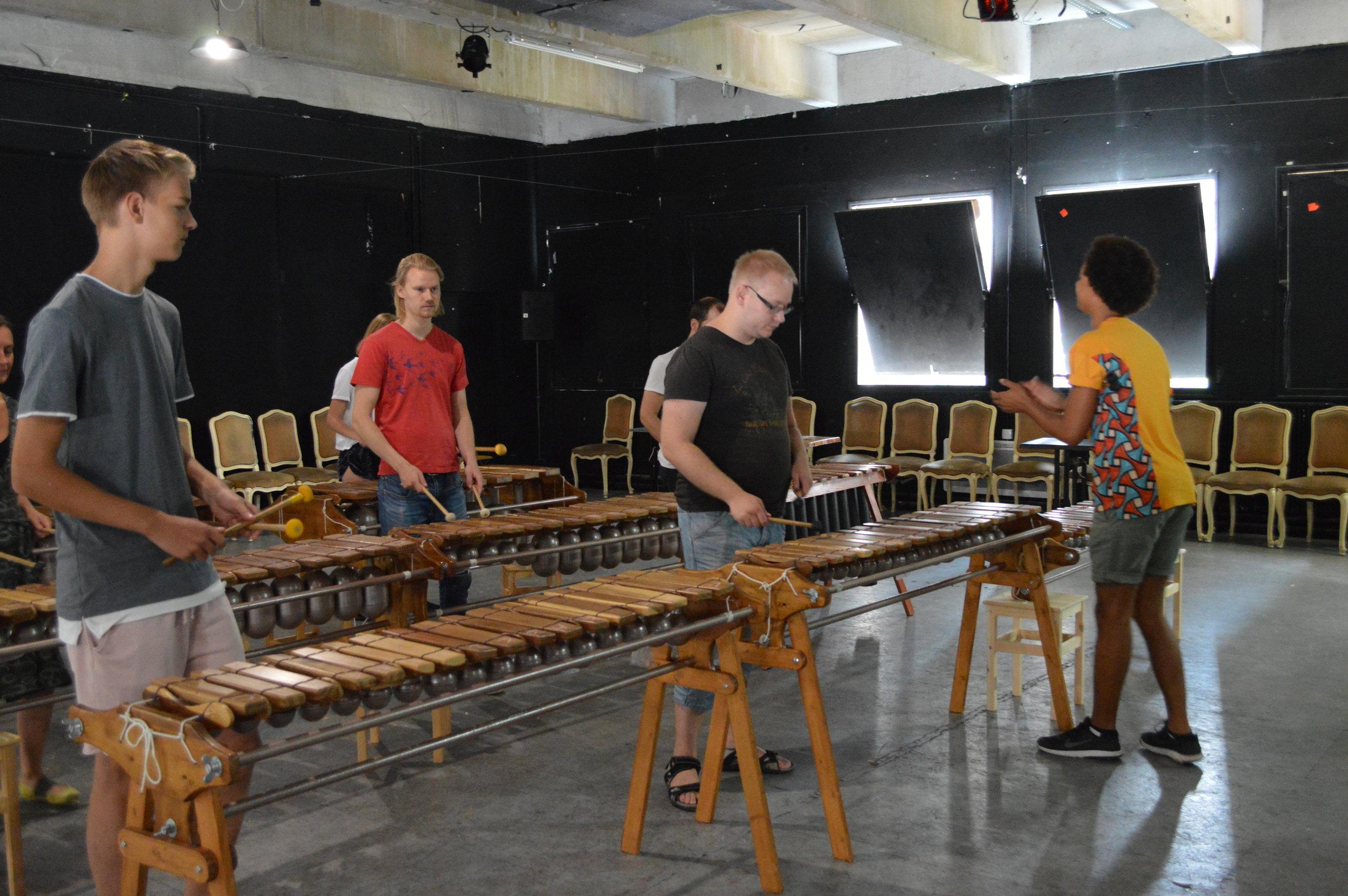ZimFest Paris - Marimba Workshop