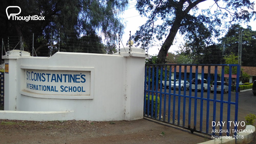 Engaging meetings with Secondary and Primary leaders at St Constantine's International School, exploring ways to work together to support their Round-Square programme of enrichment.