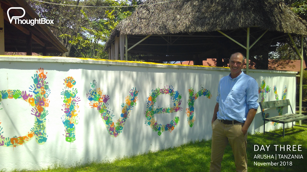 The inspiring Headmaster of ISM Arusha Campus: Phil Bowen.
