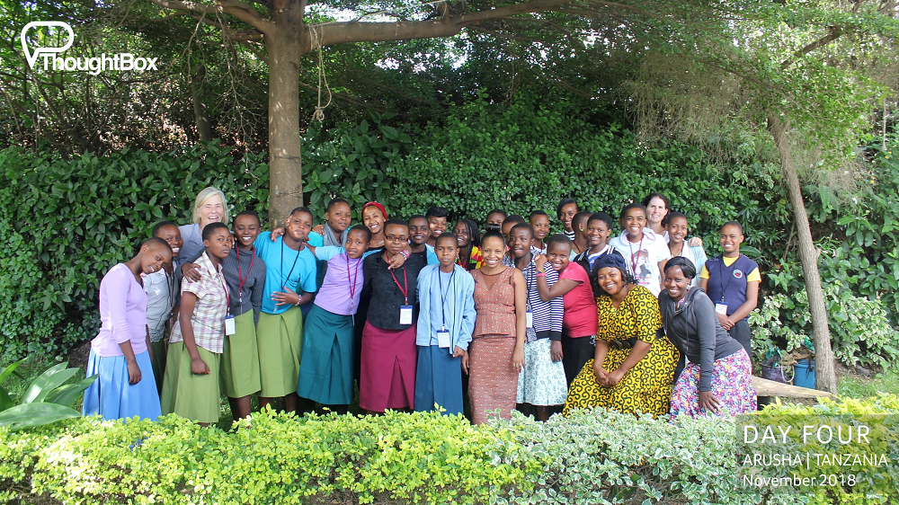 We enjoyed a joyful return to the Girls Foundation of Tanzania, a centre to support young women in the heart of Arusha. We have supported the centre with our programmes over the past few years.