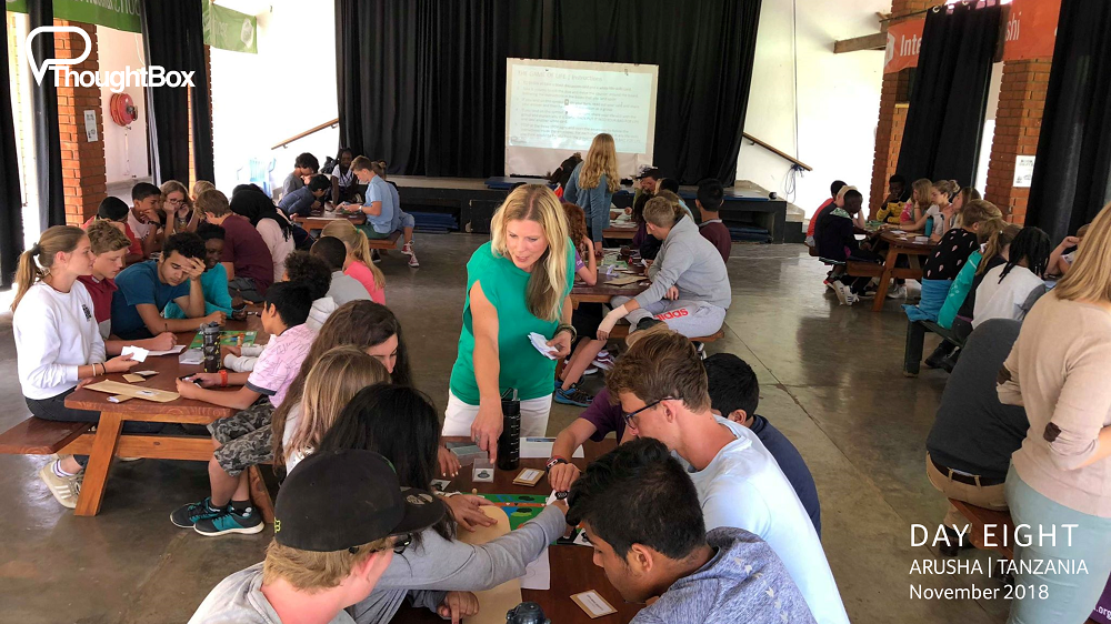We worked with students across the school, engaging in a range of discussion-based activities to support critical thinking and life-skills for connected futures.