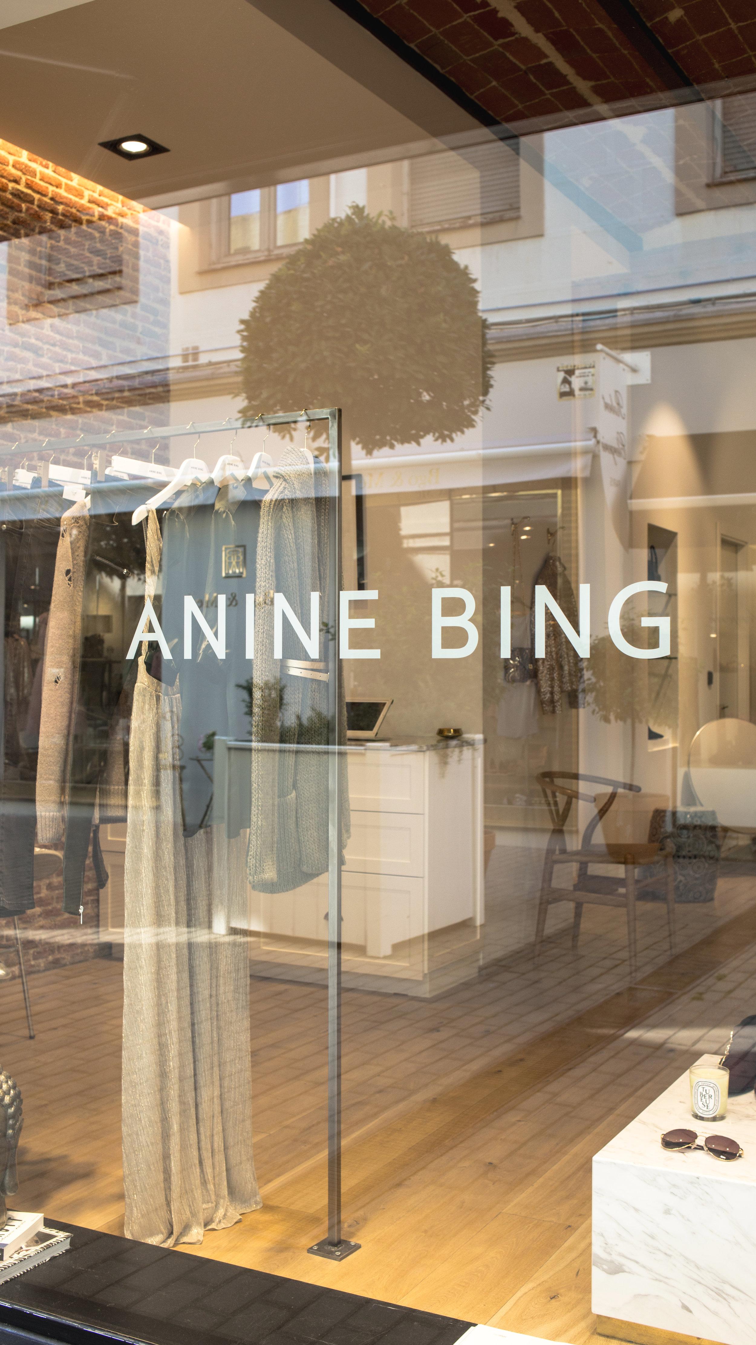 Fachada Anine Bing