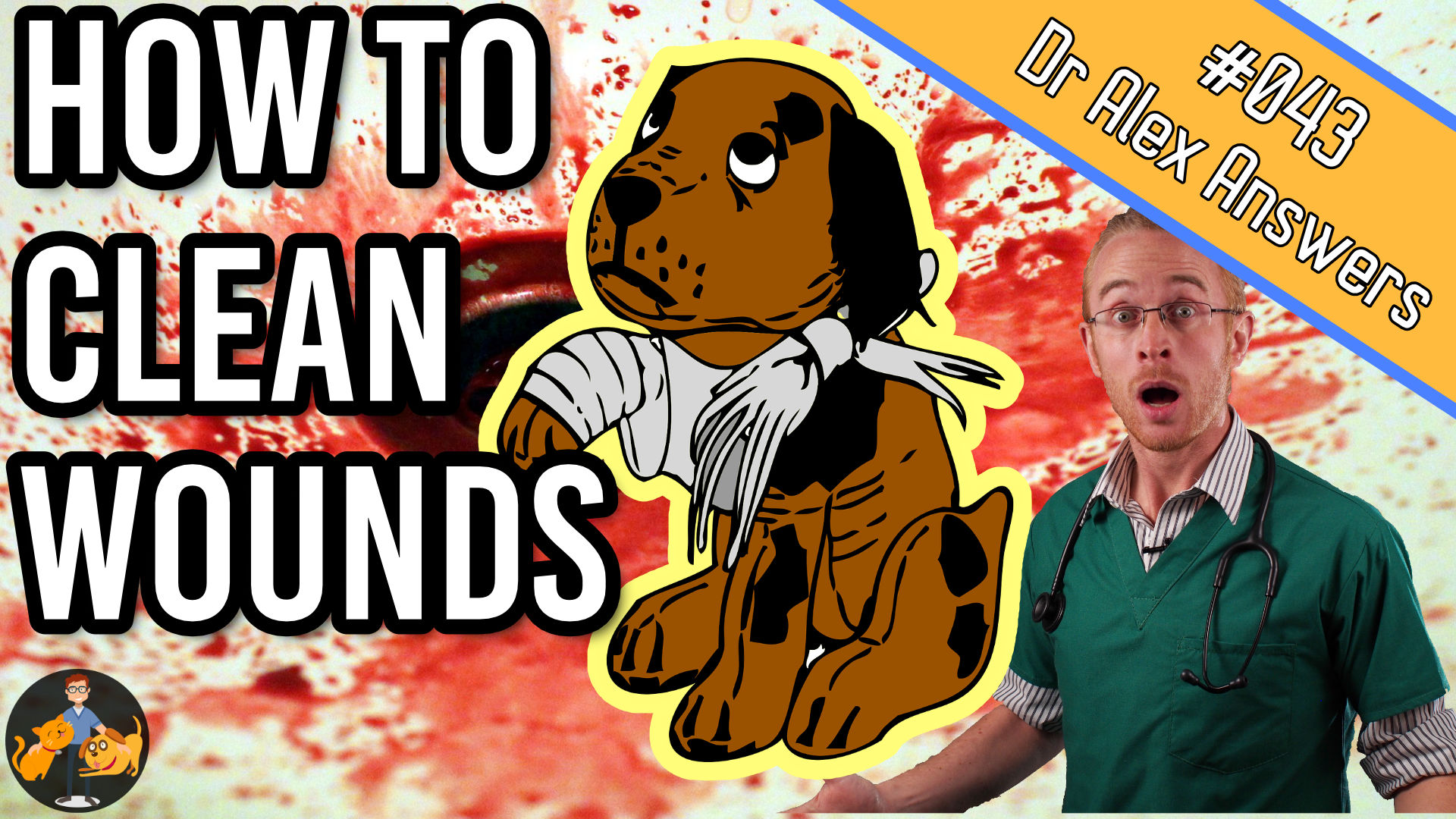 how to clean wounds