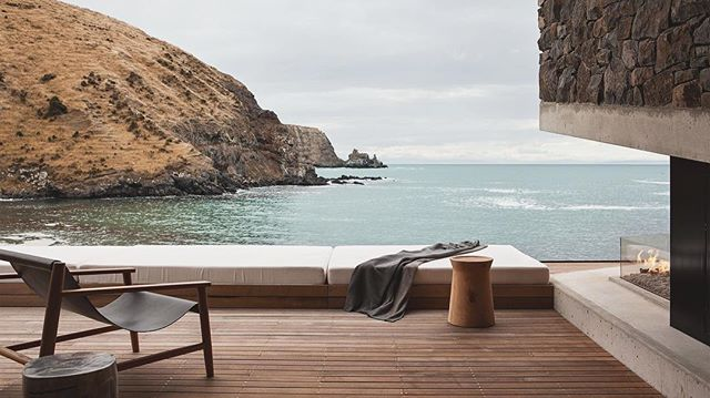 Perfection. Seascape Retreat, New Zealand. Designed by Pattersons Associates Architects. #newzealand #design #seascape