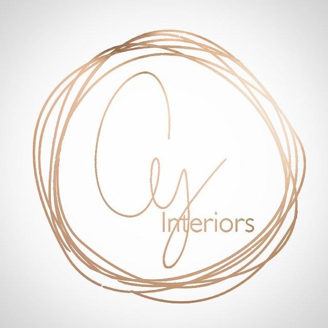 #cyinteriors #rosegold #logodesing