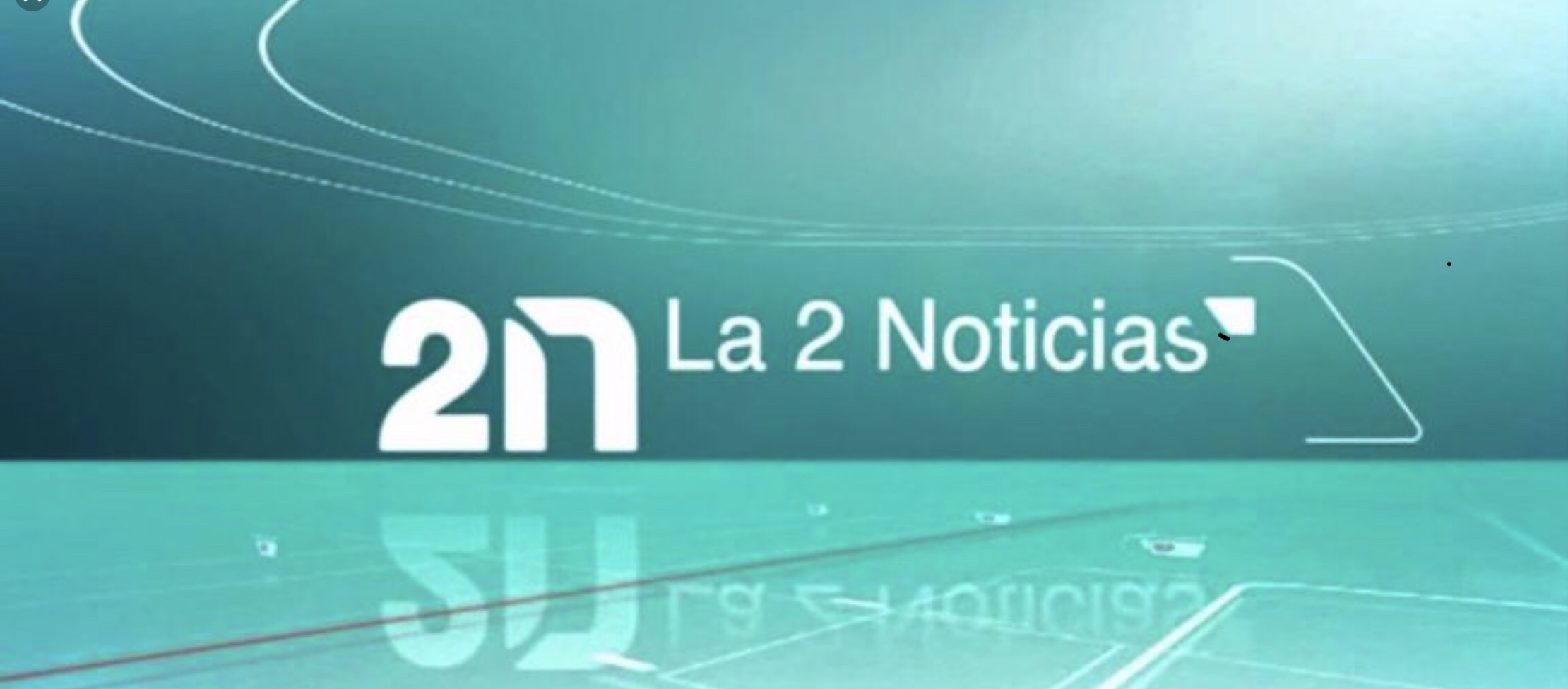 La 2 Noticias, National TV, Spain - Live show and interview with Sara Rioja