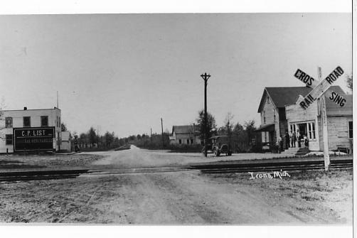 Main Road in Irons, Mi