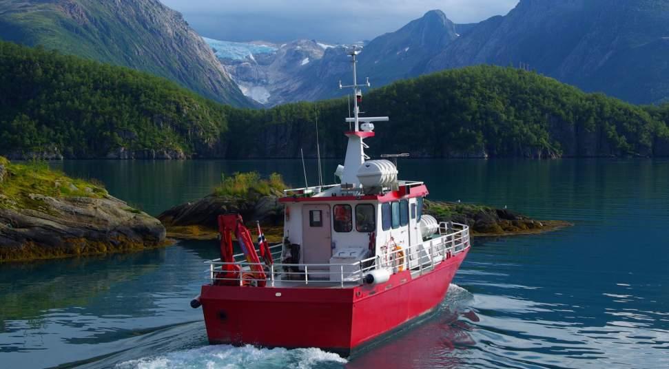Engenbreen Skyss - Boat to Svartisen - bike rent - RIB trips