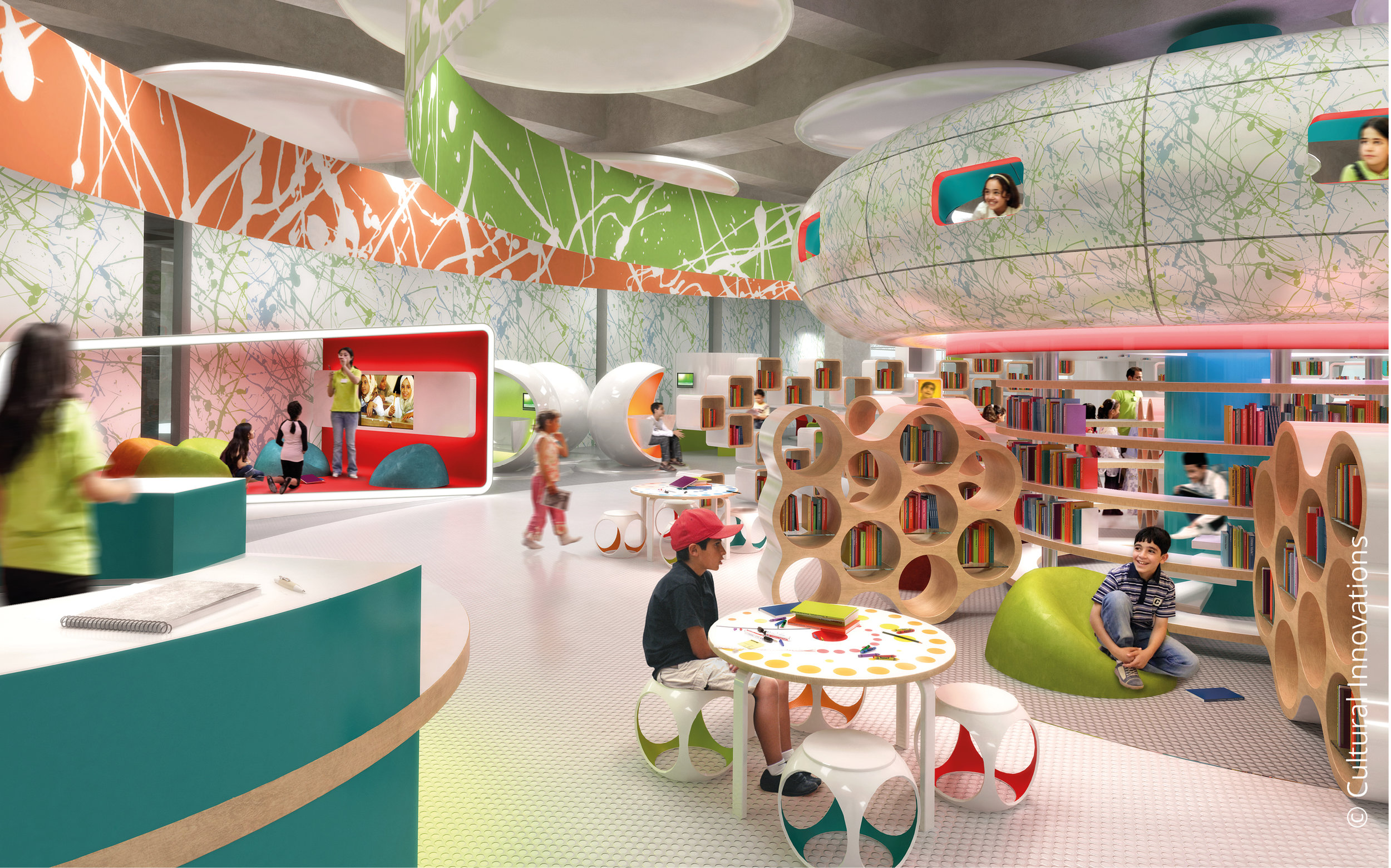 Massar Discovery Centre © Cultural Innovations