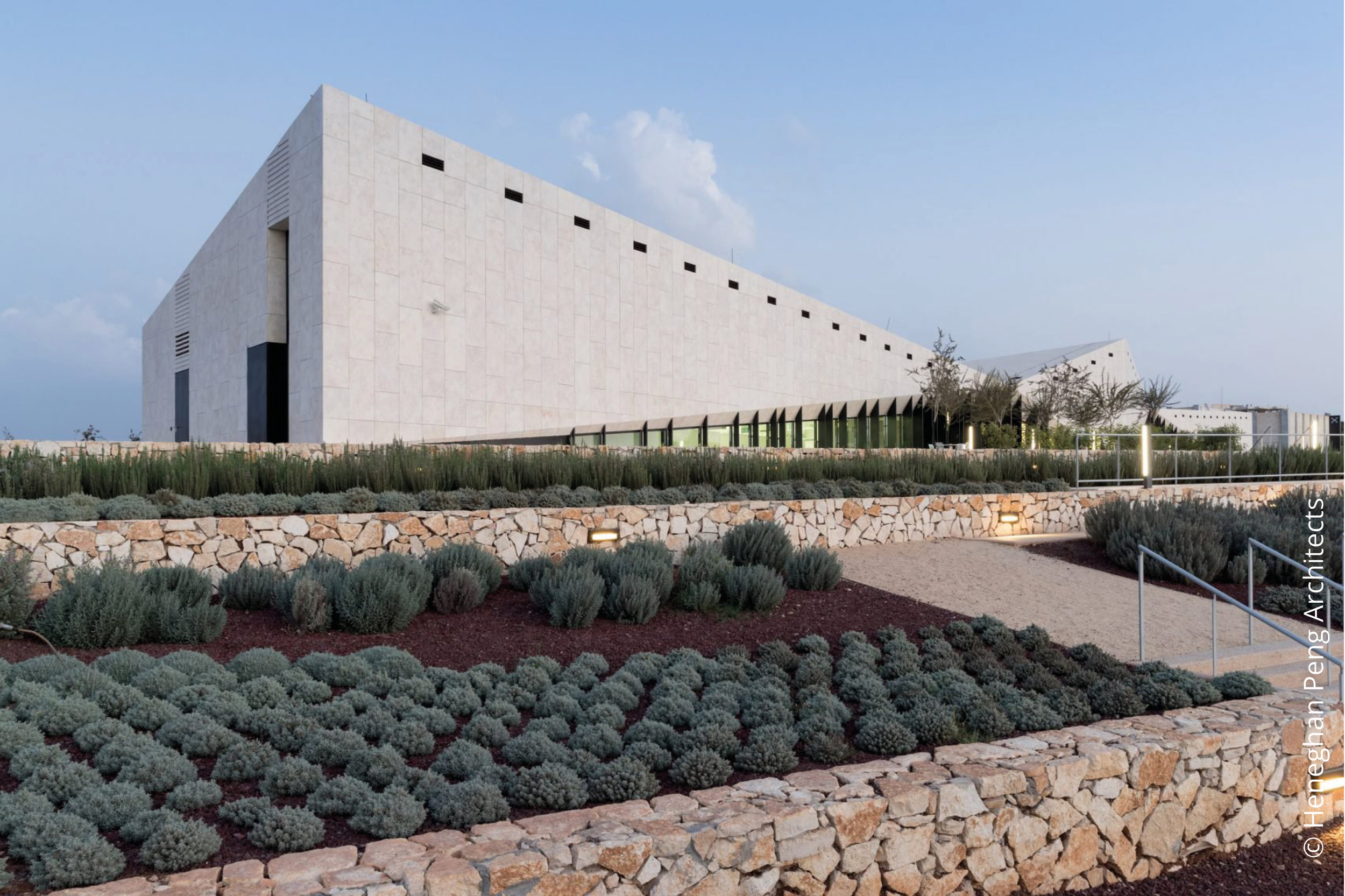 Palestinian Museum © Heneghan Peng Architects