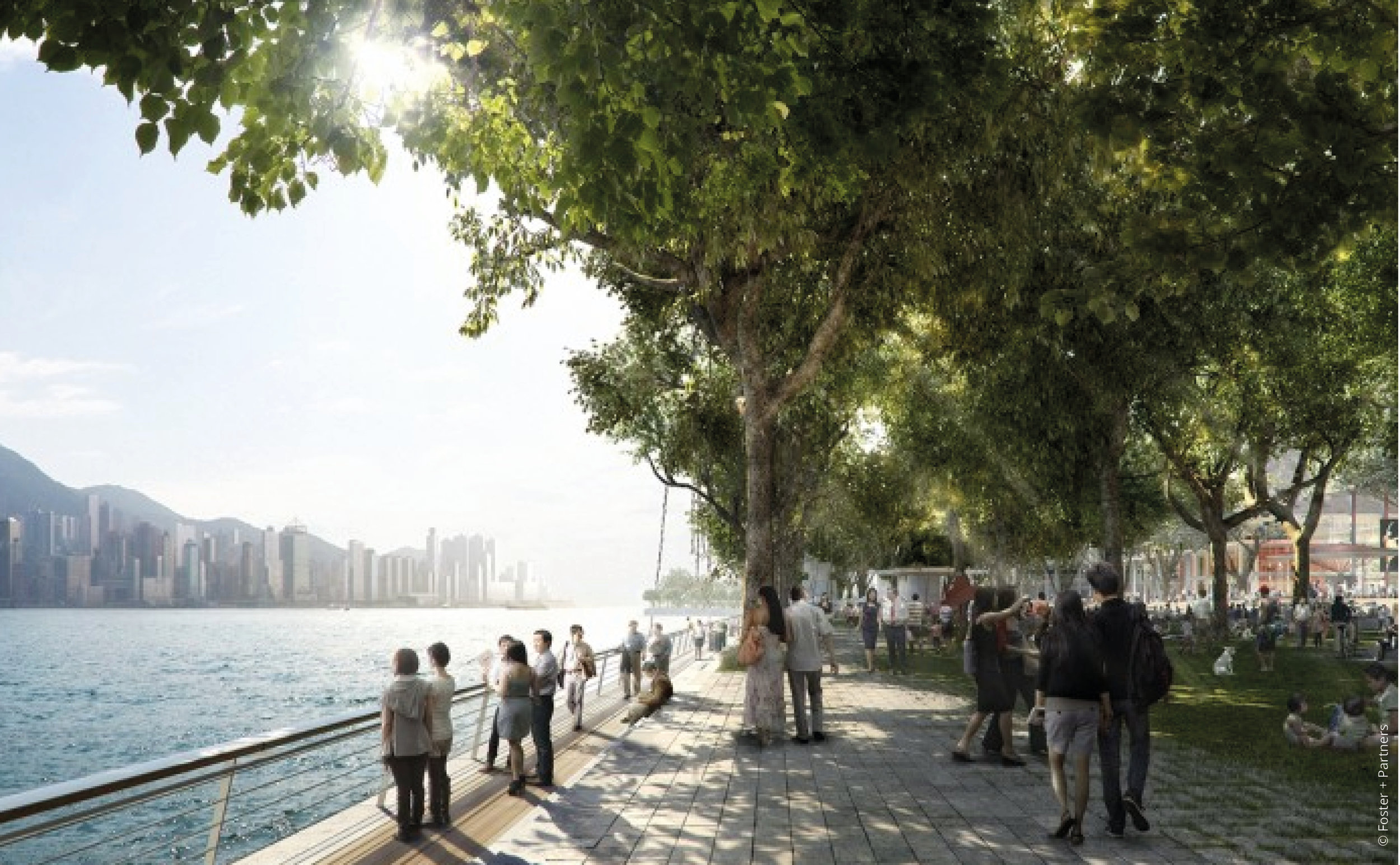 West Kowloon Cultural District ©  Foster + Partners