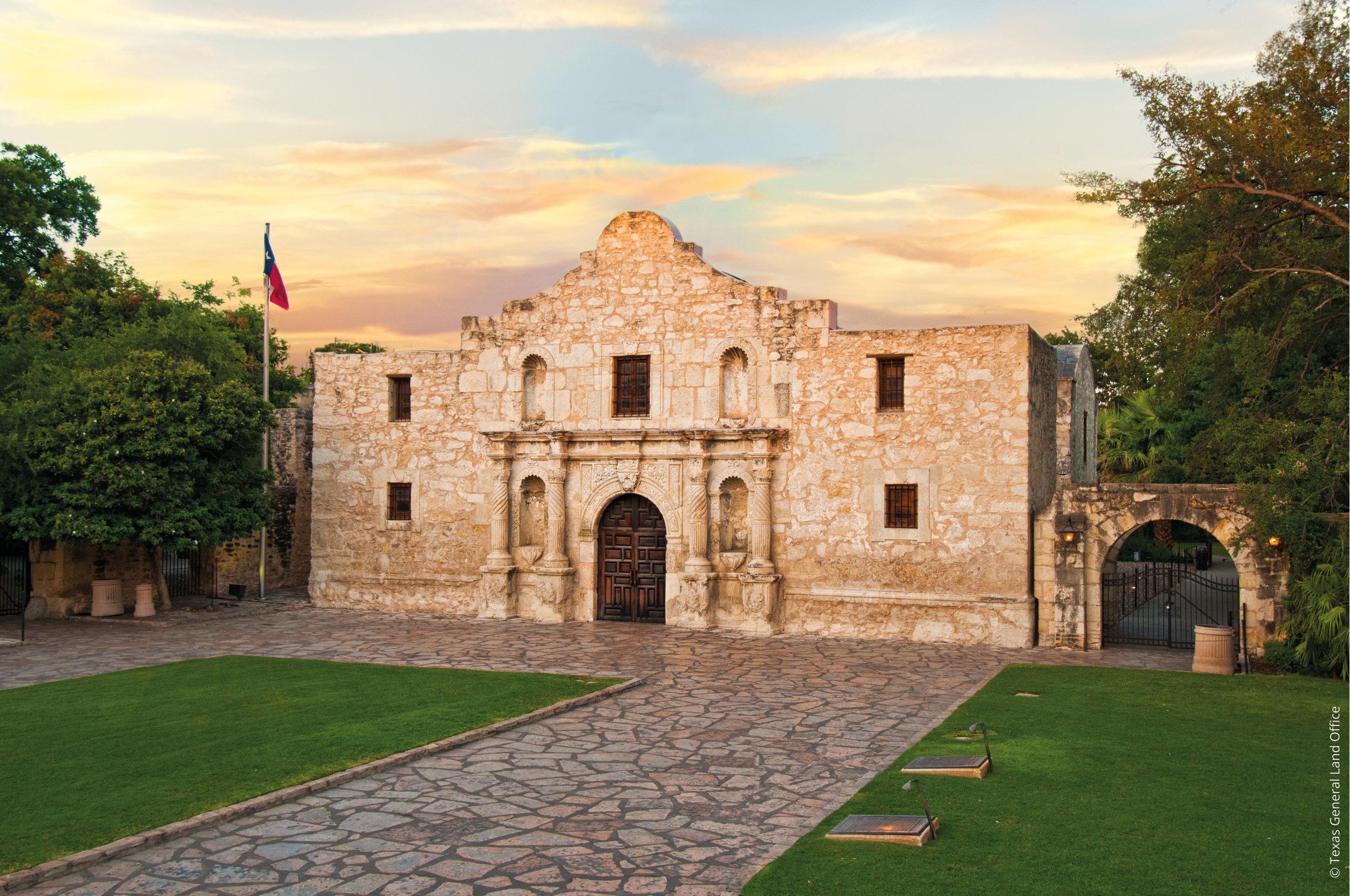 The Alamo, Texas © Texas General Land Office