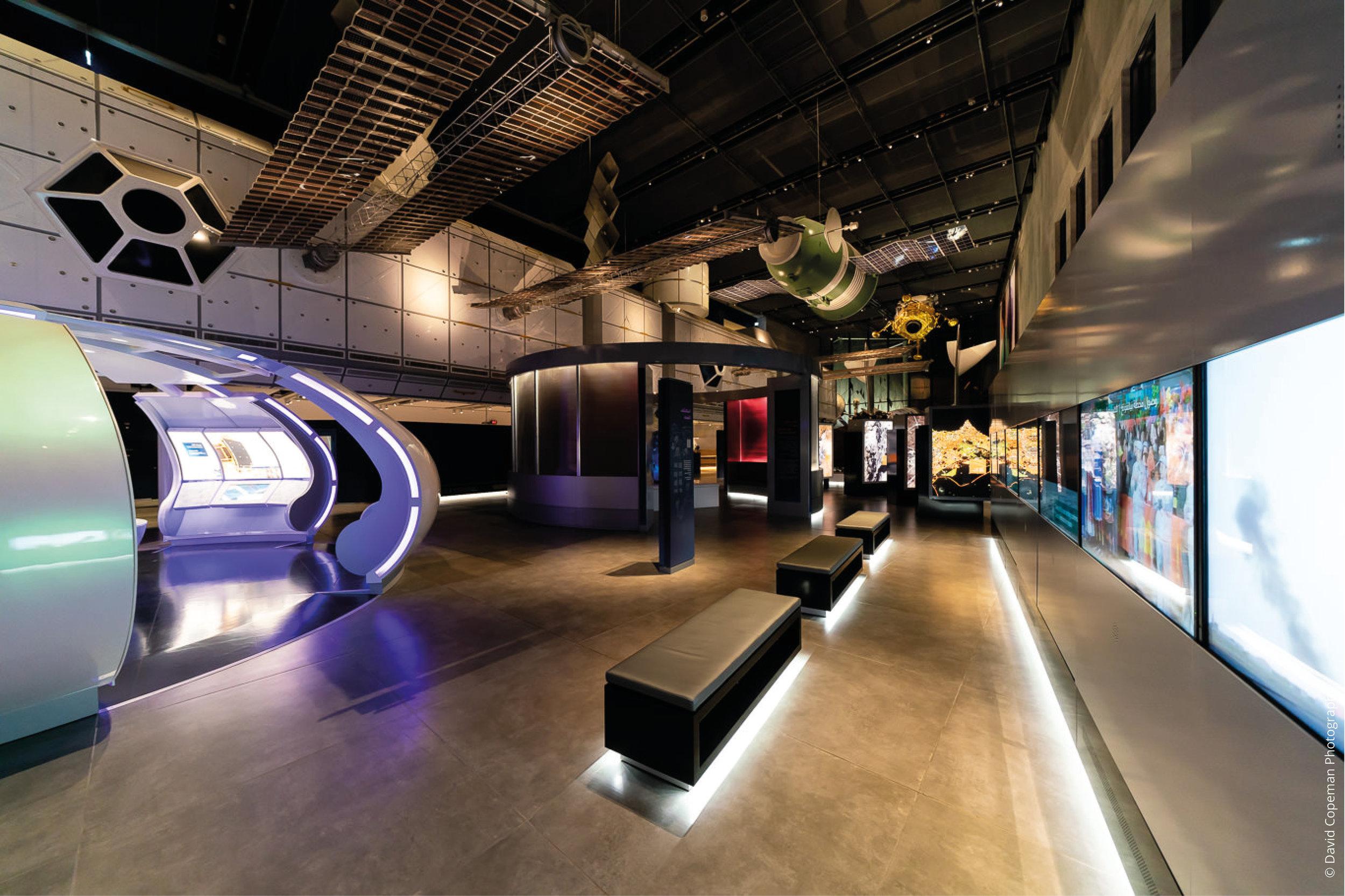 Sheikh Abdullah Al Salem Cultural Centre Space Exploration © David Copeman Photography