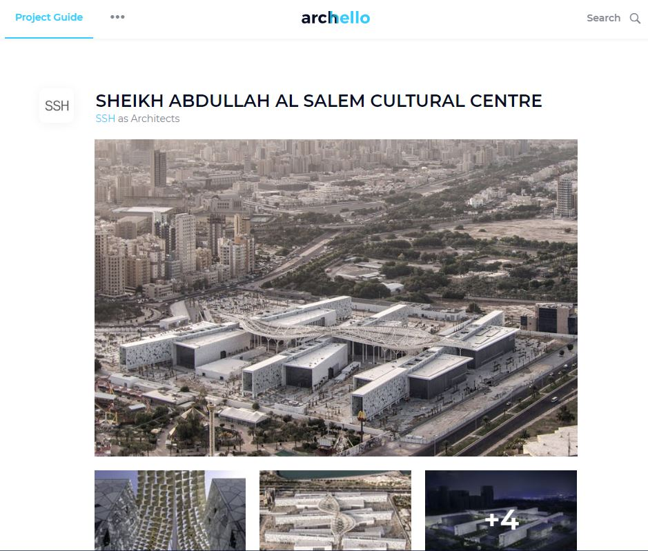 Archello     Sheikh Abdullah Al Salem Cultural Centre