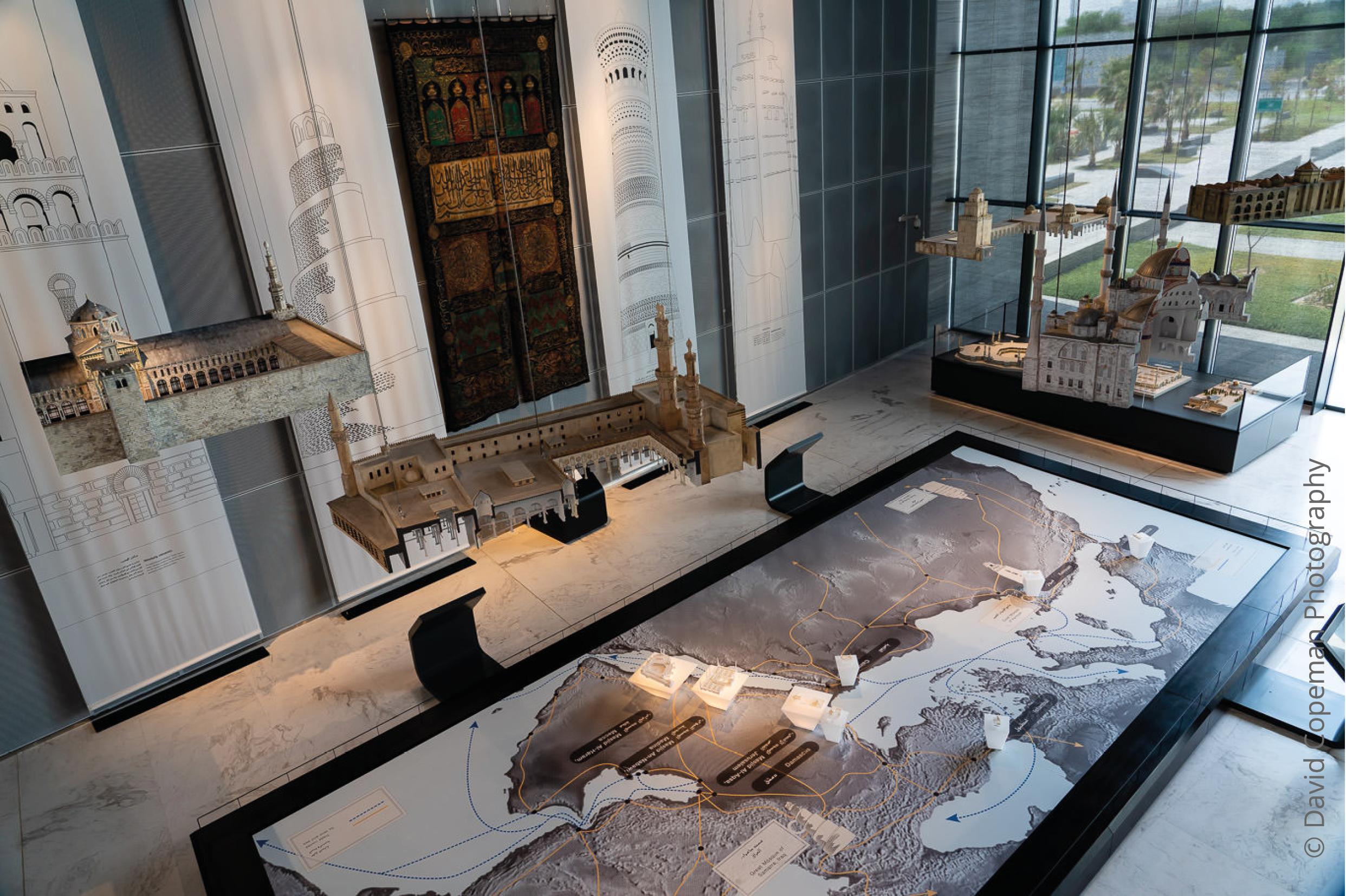 Sheikh Abdullah Al Salem Cultural Centre Arabic Islamic Science gallery © David Copeman Photography