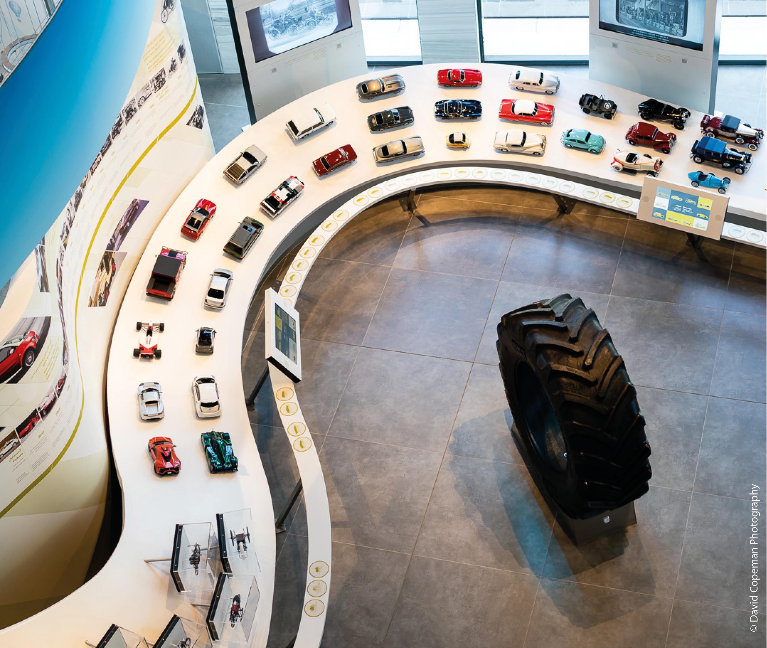 Sheikh Abdullah Al Salem Cultural Centre Transport gallery © David Copeman Photography