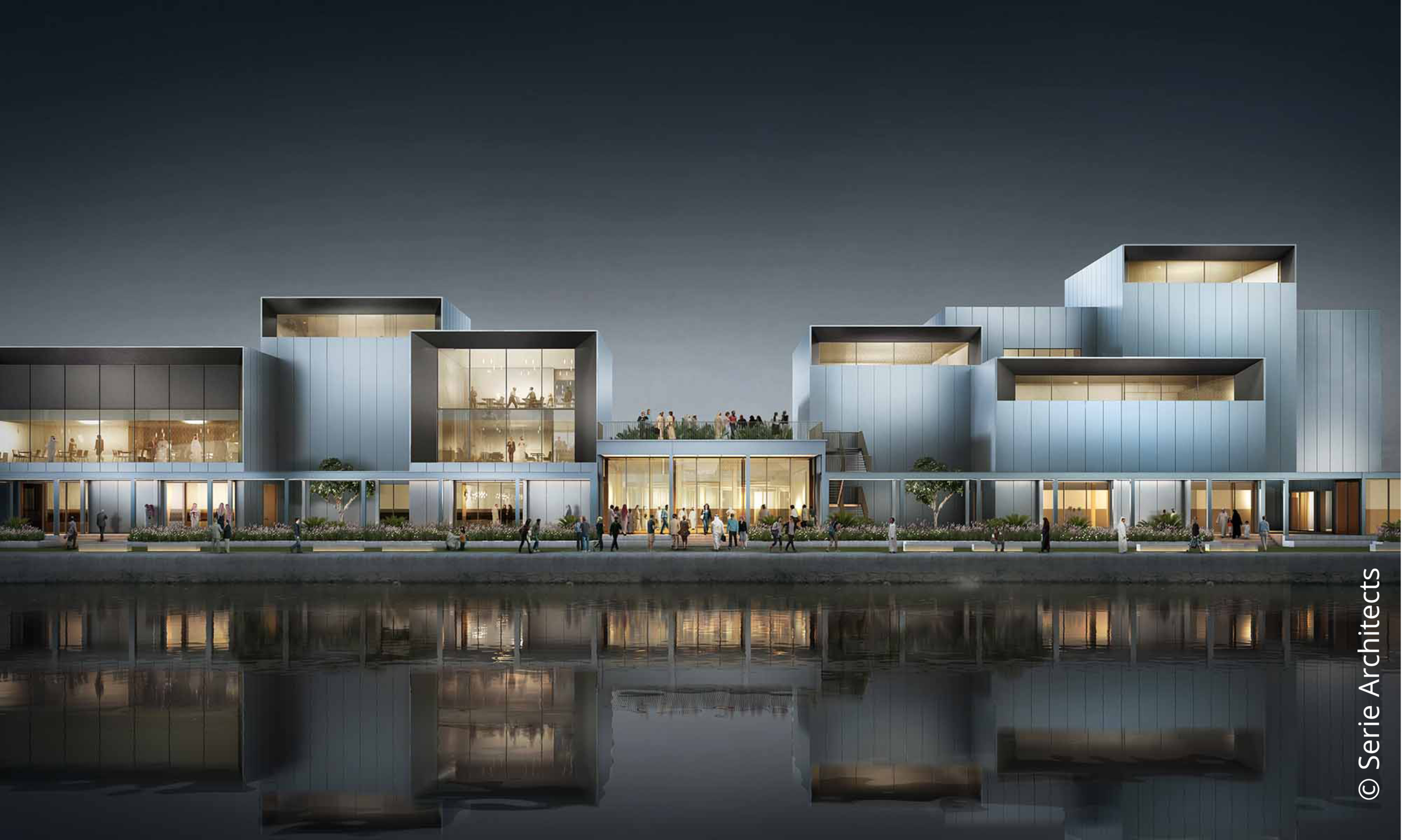 Jameel Arts Centre © Serie Architects