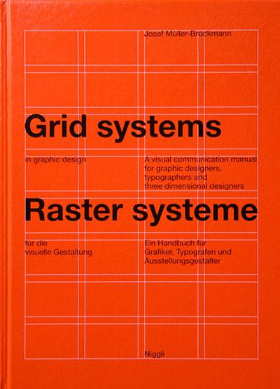 Couverture du livre Grid systems