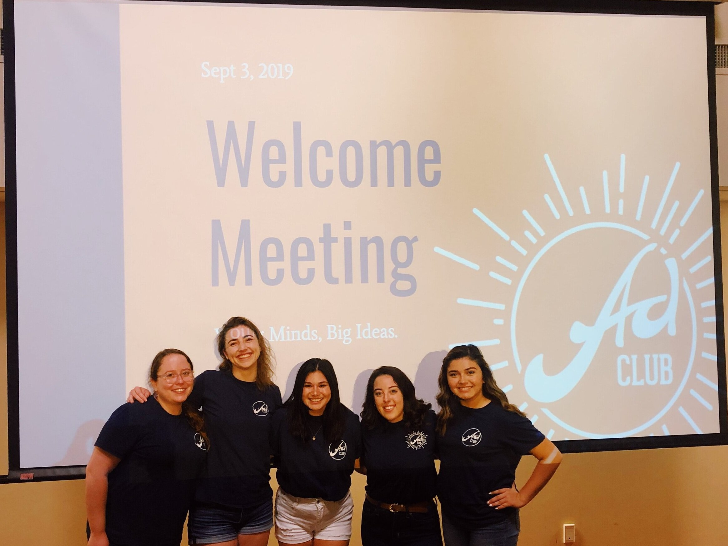 Introducing your 2019-2020  Ad Club Officers!