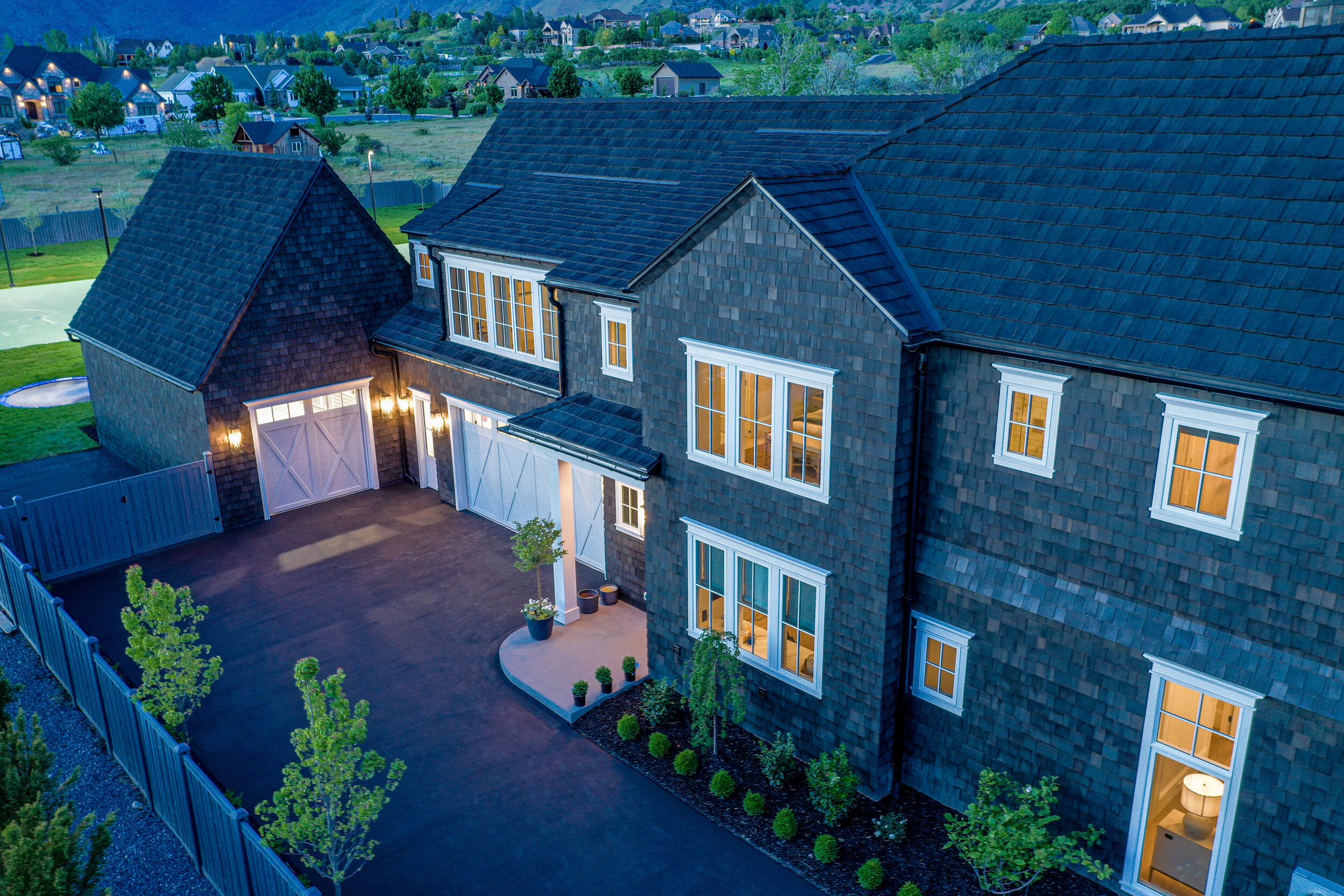 """2019 Utah Valley Parade of Homes - """"The CeDUR roofing product we used was a HUGE hit"""""""