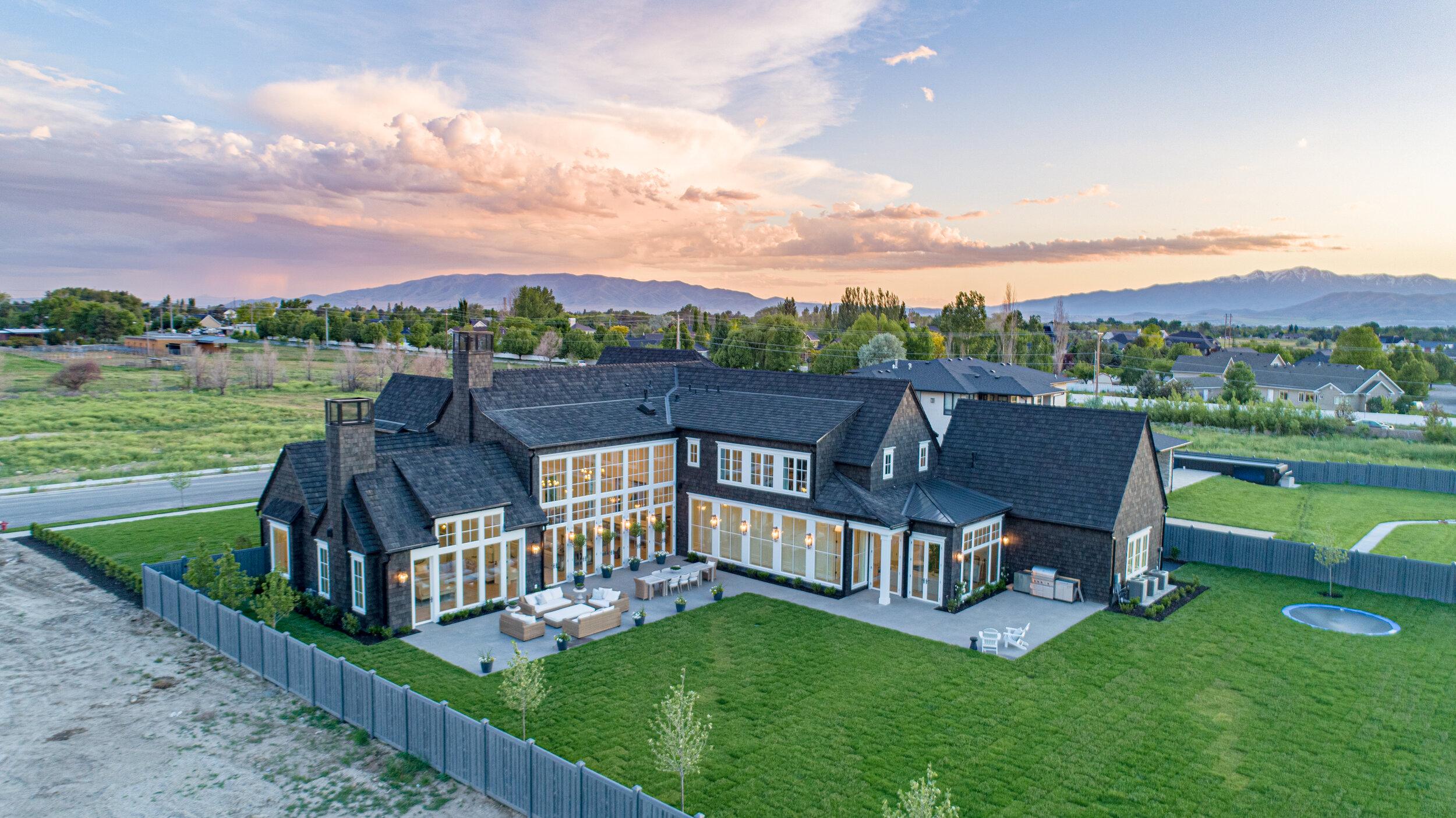 Design-Builder: Cambridge Home Company   Photographer: Drone Your Homes