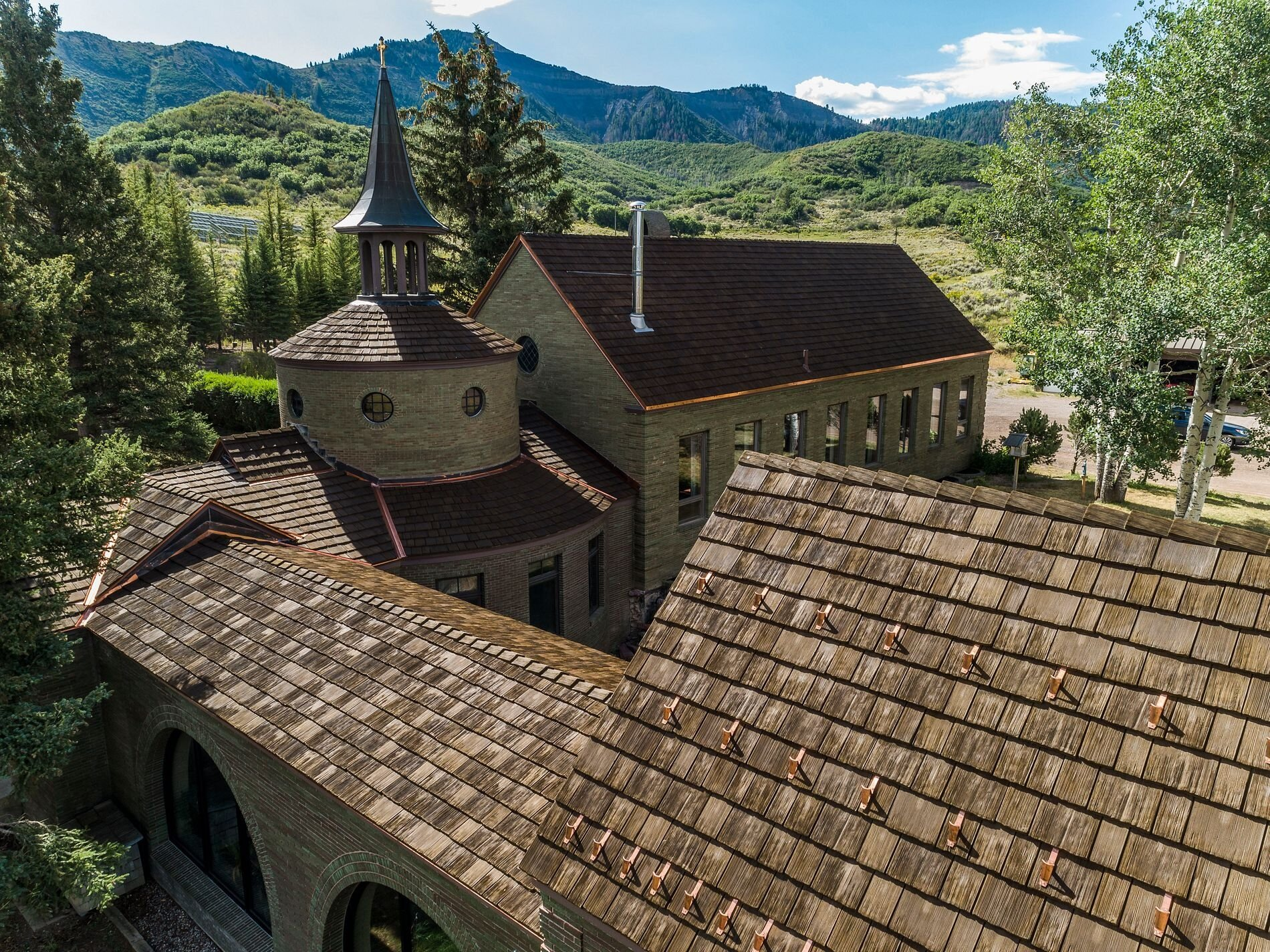 St Benedict S Monastery In Snowmass Colorado Horn