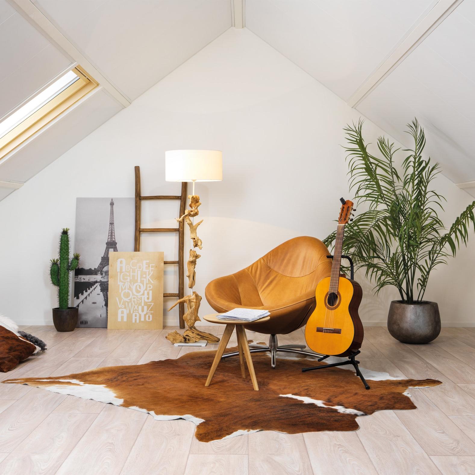 Amarillo - Ons voordeligste dakisolatiesysteem. U krijgt een goede isolatie met een mooie witte afwerking. Amarillo maakt van uw zolder een overzichtelijke en lichte ruimte.