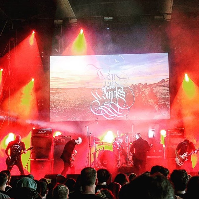 Wear Your Wounds performing at Roadburn Festival 2018.