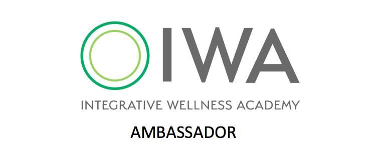 IWA integrative wellness ambassador