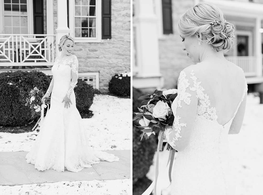 Marryland Weddings Romantic Winter Garden Springfield Manor Thurmont MD Brittany Thomas Photography_0785.jpg