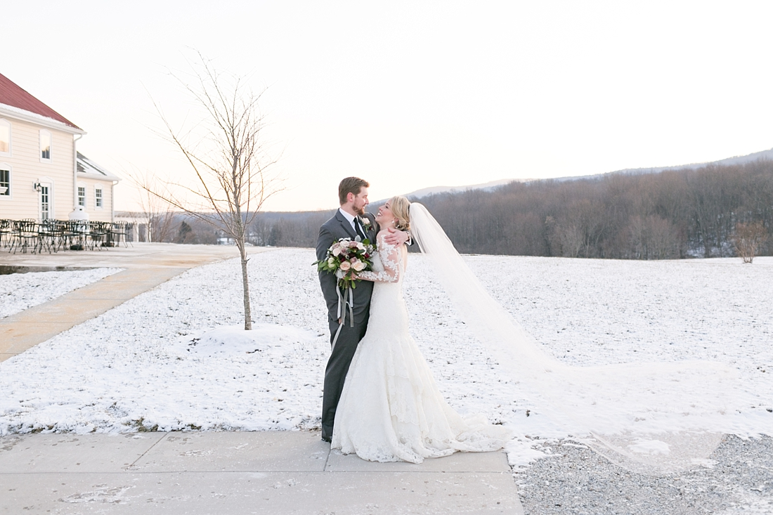 Marryland Weddings Romantic Winter Garden Springfield Manor Thurmont MD Brittany Thomas Photography_0791.jpg