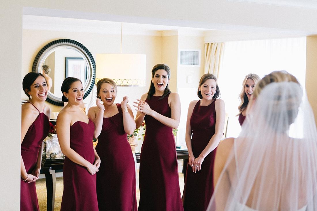 Marryland Weddings Modern Fall American Visionary Arts Museum Burgundy Gold Sarah Murray Photography_0831.jpg