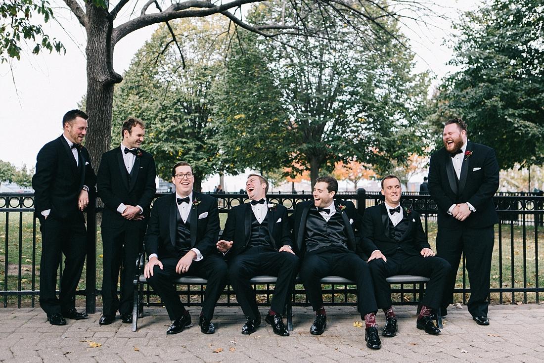 Marryland Weddings Modern Fall American Visionary Arts Museum Burgundy Gold Sarah Murray Photography_0851.jpg